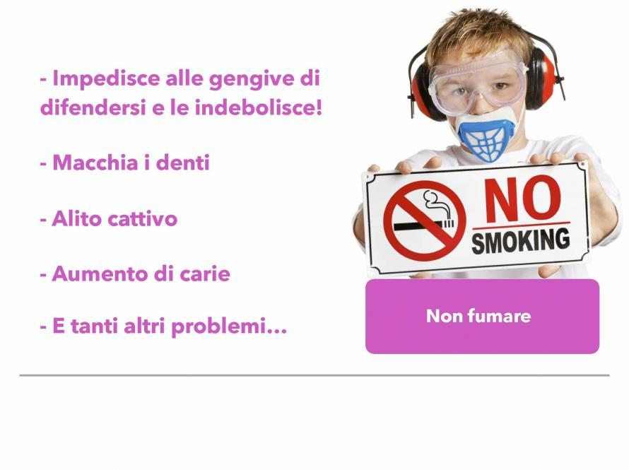 Non fumare